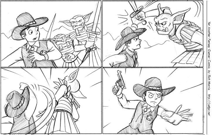 099 - Sword vs. Six Shooter